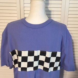 🔥URBAN OUTFITTERS🔥MENS PURPLE & CHECKERED SHIRT